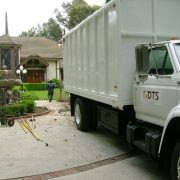 Chipper Truck at Dr Walls